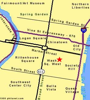 Maps of Philadelphia Real Estate, Philadelphia PA Center City Maps Center City Map Philadelphia on
